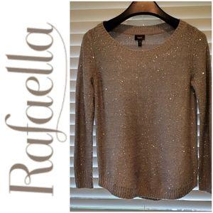 💕4 for $25💕Gray Sequin Sweater Rafaella